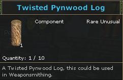 Twisted Pynwood Log-0