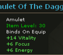 Amulet Of The Dagger