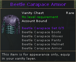 Beetle Carapace Armor V