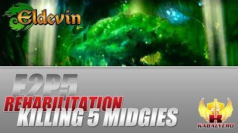 Eldevin Gameplay 2014 E2P5 Rehabilitation ★ Killing 5 Midgies