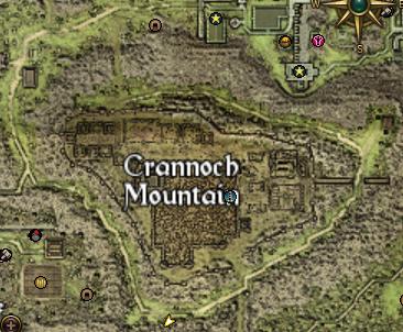 MapCrannochMountain