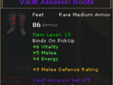 Vault Assassin Boots