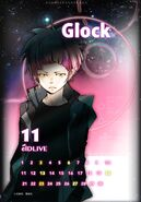 Glock calendar