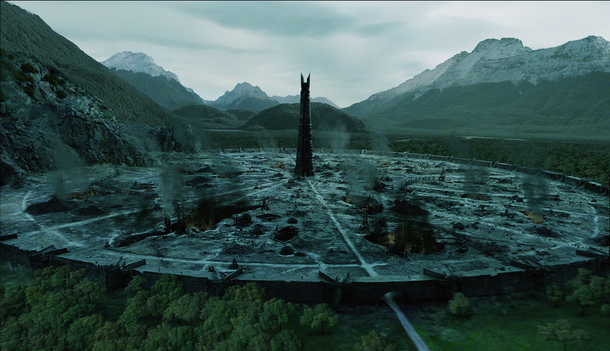 Isengard Tolkienpedia Fandom Powered By Wikia