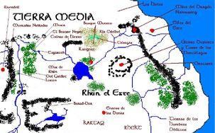 Mapa de Rhûn