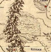 Fangorn mapa
