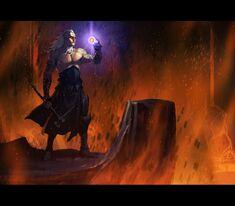 Sauron forjando el anillo-0