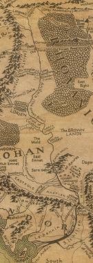 Anduin mapa
