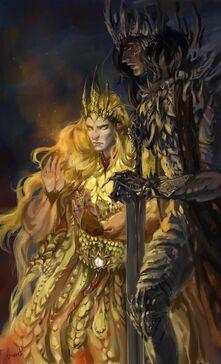Morgoth y Sauron