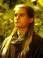 Legolas golden light