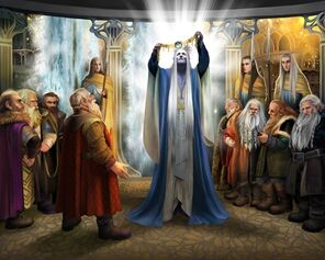 Thingol y los herreros enanos