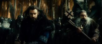 Thorin and his father Thrain