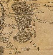 Rhovanion mapa