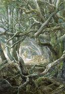 418px-Alan Lee - ''Well, here is Mirkwood!'' said Gandalf
