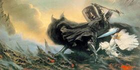 Fingolfin y Morgoth