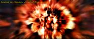 Sauron revelandose de ser el nigromante