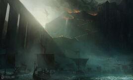 Assault on Nargothrond by PeteAmachree