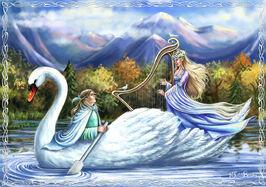 Araniart - Galadriel and Celeborn