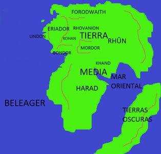 Tierra media tercera edad