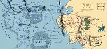Beleriand-y-tierra-media