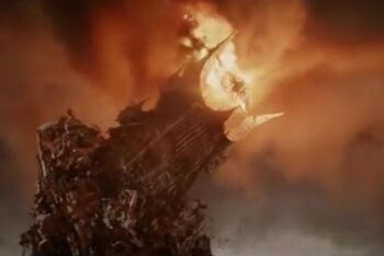 Destrucción de Sauron
