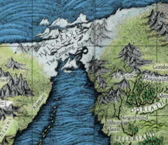 Helcaraxe-mapa
