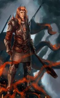 Sauron s burning victory by dreambeing-d7byuc0