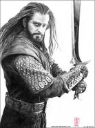 Thorin y Orcrist