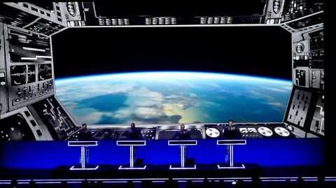 """Kraftwerk """"Spacelab"""" live in Stockholm 23 1 2014 - 2nd show"""