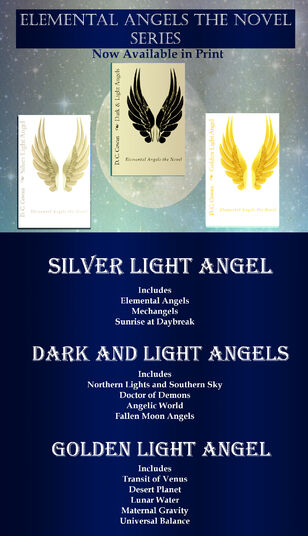Elemental Angels the Novel Ad for eBooks