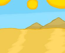 Kater desert