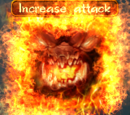 Increase attack