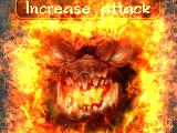 Increase attack