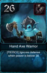 Hand Axe Warrior HQ