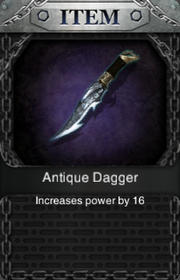 Antique Dagger HQ