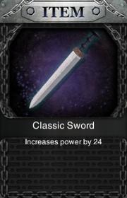 Classic Sword HQ