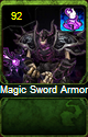 Magic Sword Armor