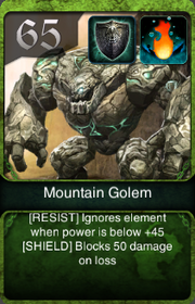 Mountain Golem HQ