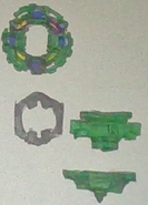E.Ws Draciel Fort Shell parts