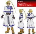 Rowen character design