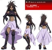 Kuea character design