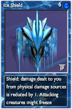 Ice shield