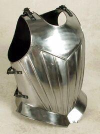 Plate-armour