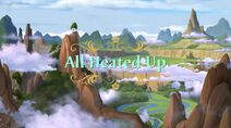 All Heated Up Title Card