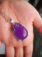 Sofia Purple Amulet Necklace