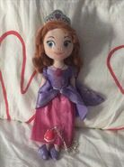 New Sofia Plush And Pink Amulet Necklace 2