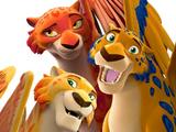 Migs, Luna and Skylar