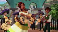 Marlena and Mateo playing instruments