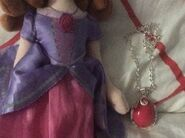 New Sofia Plush And Pink Amulet Necklace 4