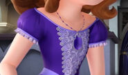 Sofia New Dress And Purple Amulet